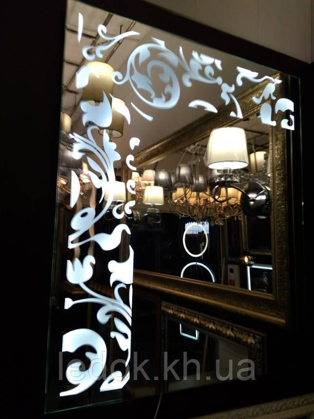Зеркало с подсветкой Lilia
