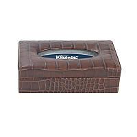 Прямоугольная коробка для салфеток с watowaną крышкой - Коробка с рисунком кожи№: 08, 09, 10, 13,14,15