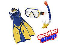 Детский набор для плавания Verus Dive Junior (желтый), фото 1