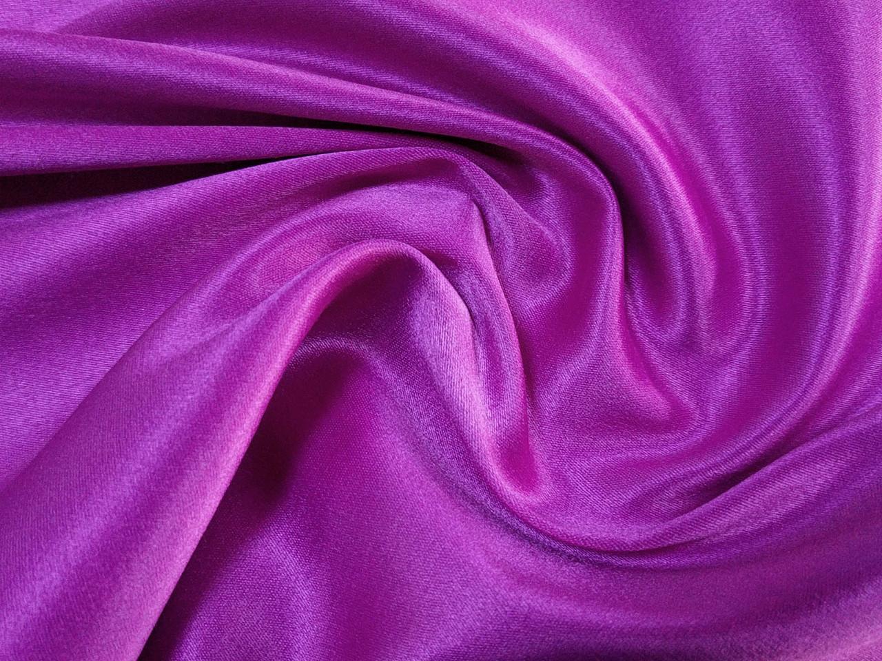 Атлас на основе йорк, фиолетовый