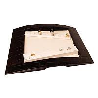 Творческий коробка для ювелирных изделий с 2 подушками на кольца - Коробка с рисунком кожи№: 06, 07, 16