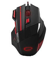 Игровая компьютерная мышь USB Esperanza MX201 WOLF (EGM201R) Черный / Красный