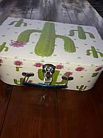 Коробка-чемоданчик с застежкой, фото 1