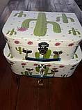 Коробка-чемоданчик с застежкой, фото 2