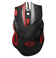Игровая компьютерная мышь USB Esperanza MX401 HAWK (EGM401KR) Черный / Красный