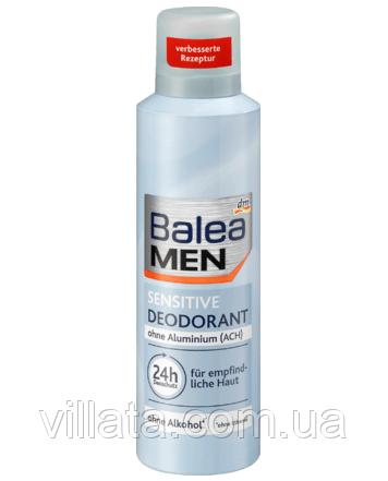 Дезодорант-антиперспірант чоловічий для чутливої шкіри Balea 200ML