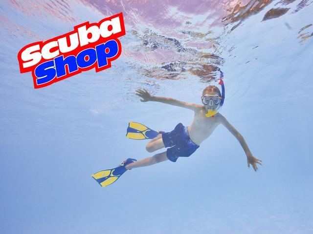 Детский набор для плавания Verus Dive Junior (желтый)