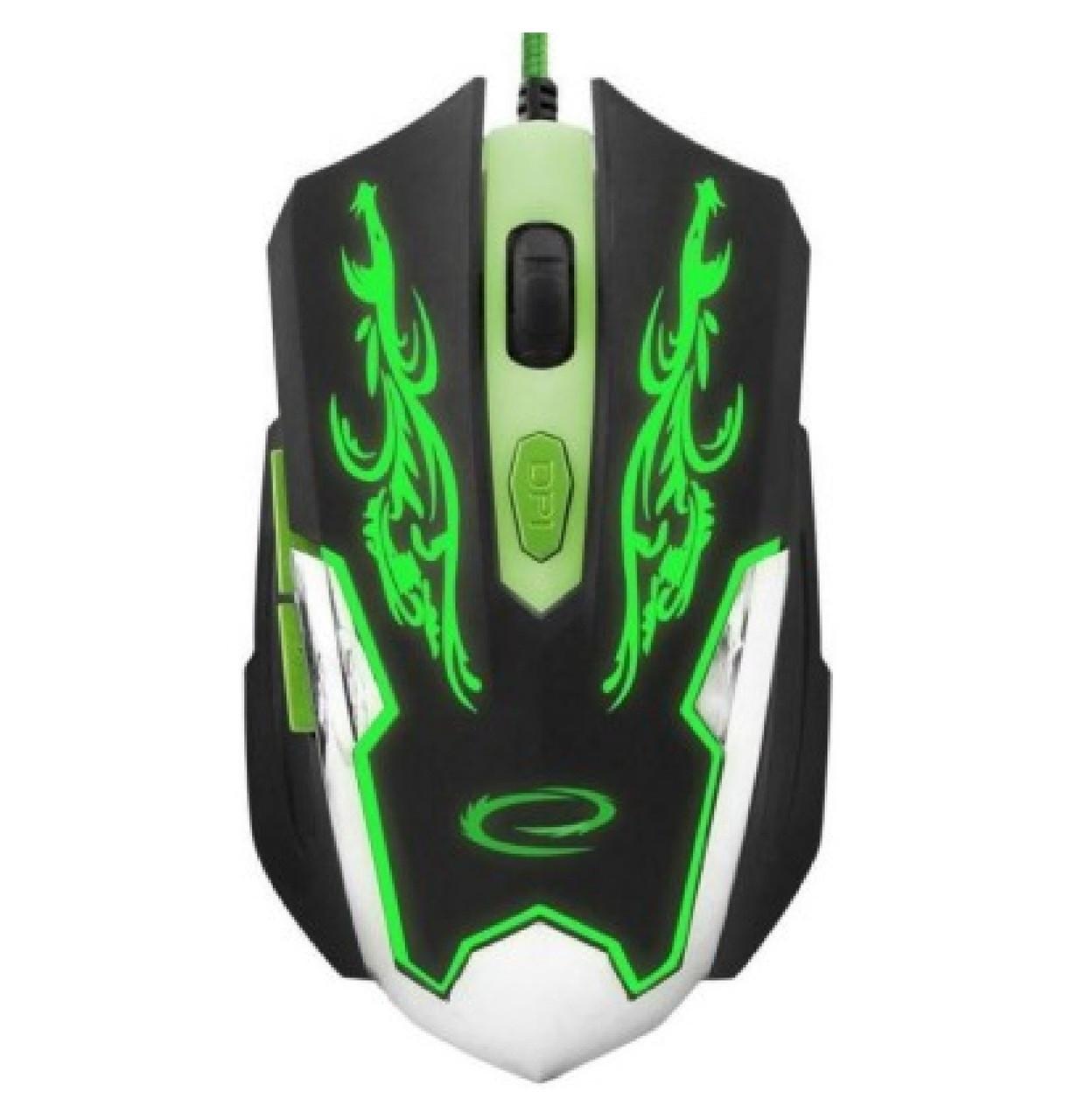 Мышка Esperanza MX405 CYBORG (EGM405) Green