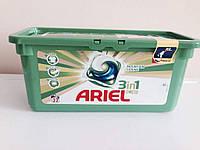 Гель-капсулы для стирки Ariel 3 in 1 36 шт., универсальные
