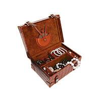 Оригинальные Кожаные коробка для ювелирных изделий - Бретон - Коробка с рисунком кожи№: 06, 07, 16