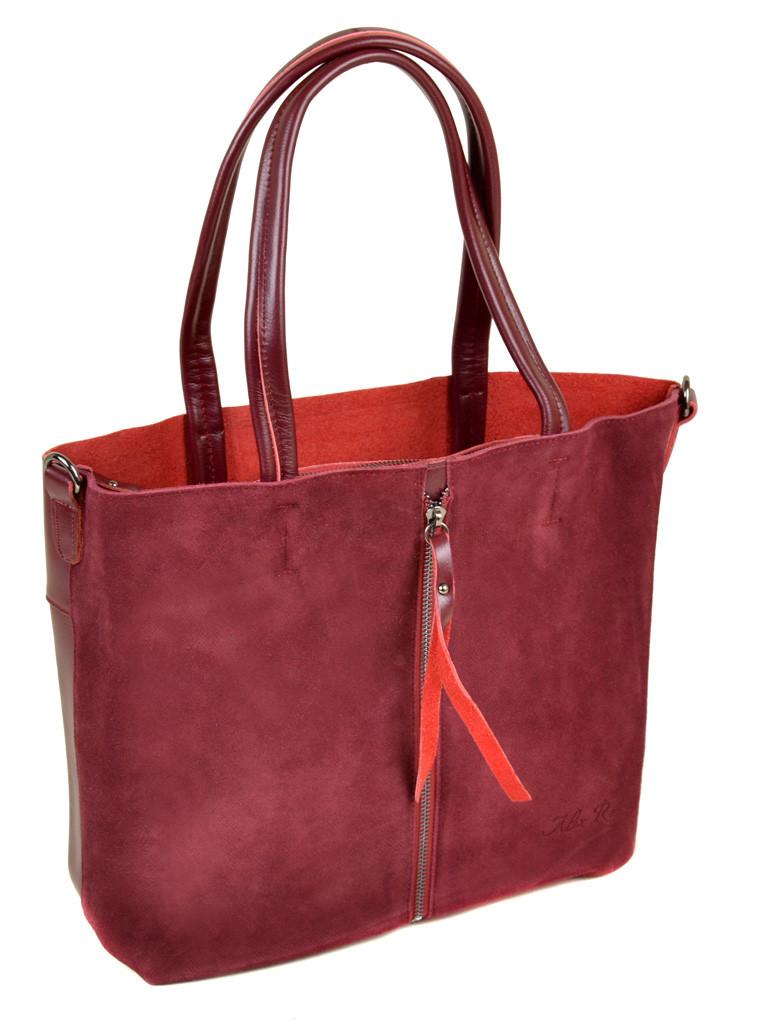 d9ea99e92d50 Женская сумка из натуральной кожи и замши: продажа, цена в Киеве ...