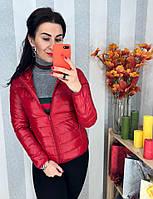 Женская красная курточка, фото 1