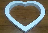 Сердце контурное 50*50 см.