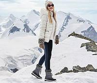 Комбинированные леггинсы для модницы от тсм Tchibo размер 36 евро наш 42