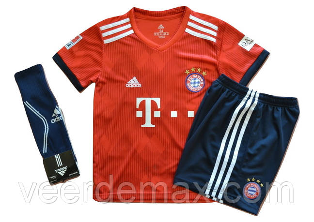 Футбольная форма ФК Бавария Мюнхен (FC Bayern Munchen) 2018/19+ Гетры Бавария Мюнхен