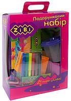 Подарочный набор для творчества (13 предметов), розовый, ZiBi