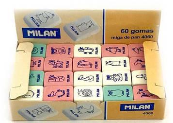 Резинка стирательная Milan 4060 (60 шт)