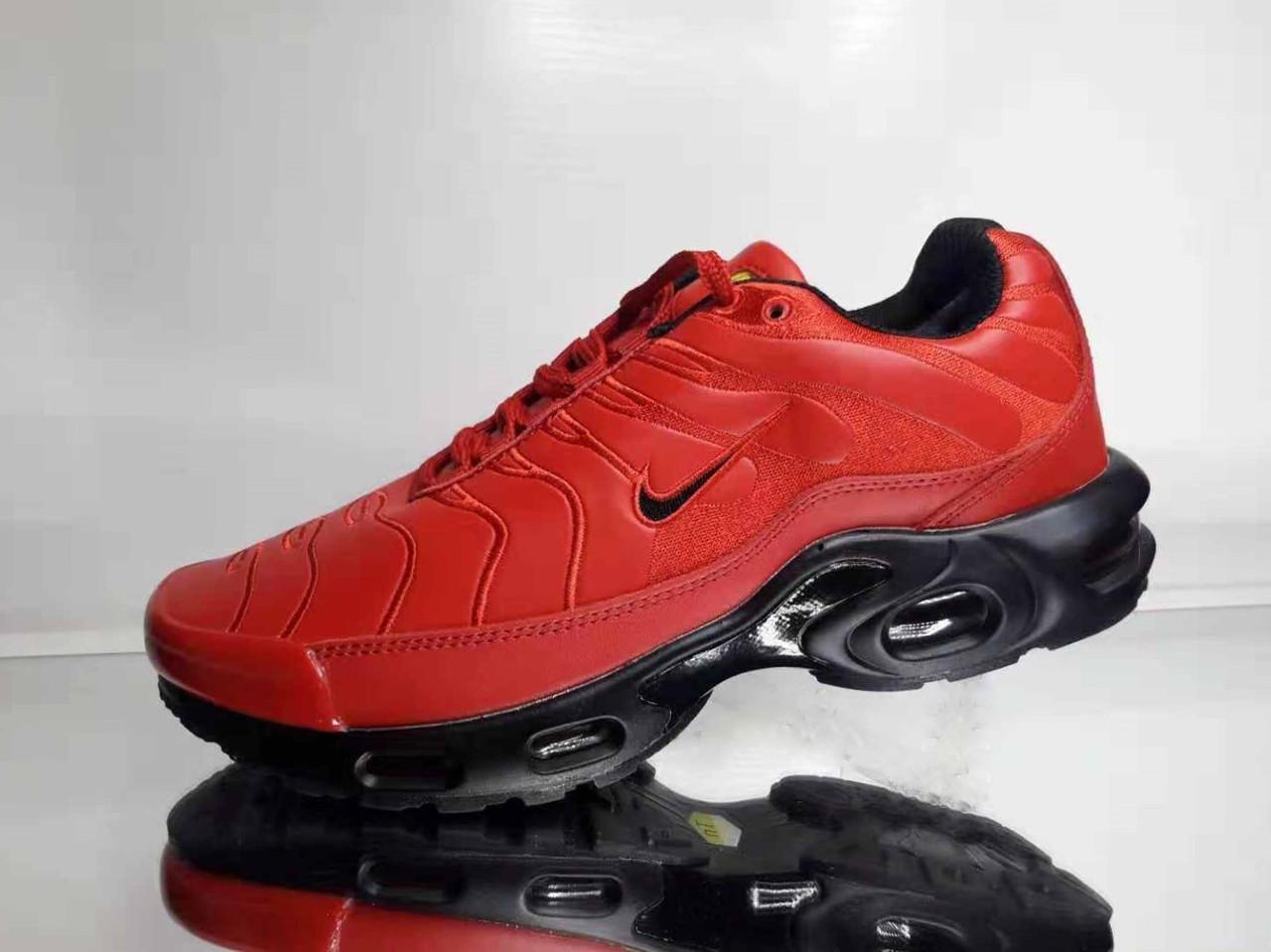Зимові Кросівки Nike Air Max TN Ultra Tuned Червоні (Репліка) — в ... 6508210028f85
