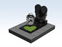 3d проект детского памятника, памятники надгробия симферополь заказать
