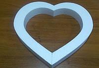 Сердце контурное 40*40 см.