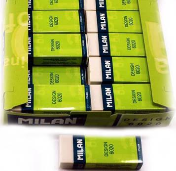 Резинка стирательная Milan 6020 (20 шт)