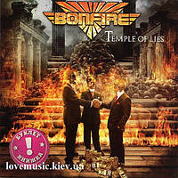 Музичний сд диск BONFIRE Temple of lies (2018) (audio cd)