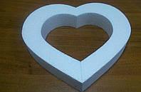 Сердце контурное 25*25 см.