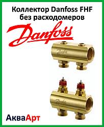 Коллектор Danfoss FHF на два выхода без расходомеров