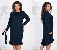 96a402c9892 Потребительские товары  Синее платье с кружевом оптом в Украине ...