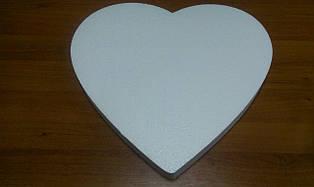 Сердце плоское 25 см.