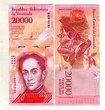 Венесуела 20.000 боліварів стан UNS