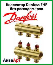 Коллектор Danfoss FHF на три выхода без расходомеров