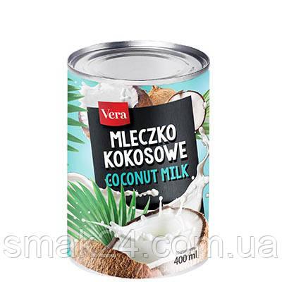 Кокосовое молоко Vera Coconut Milk 400 мл Польша