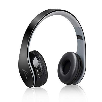Наушники HiFi  Dylan Bluetooth-гарнитура стерео складные Черный/серый