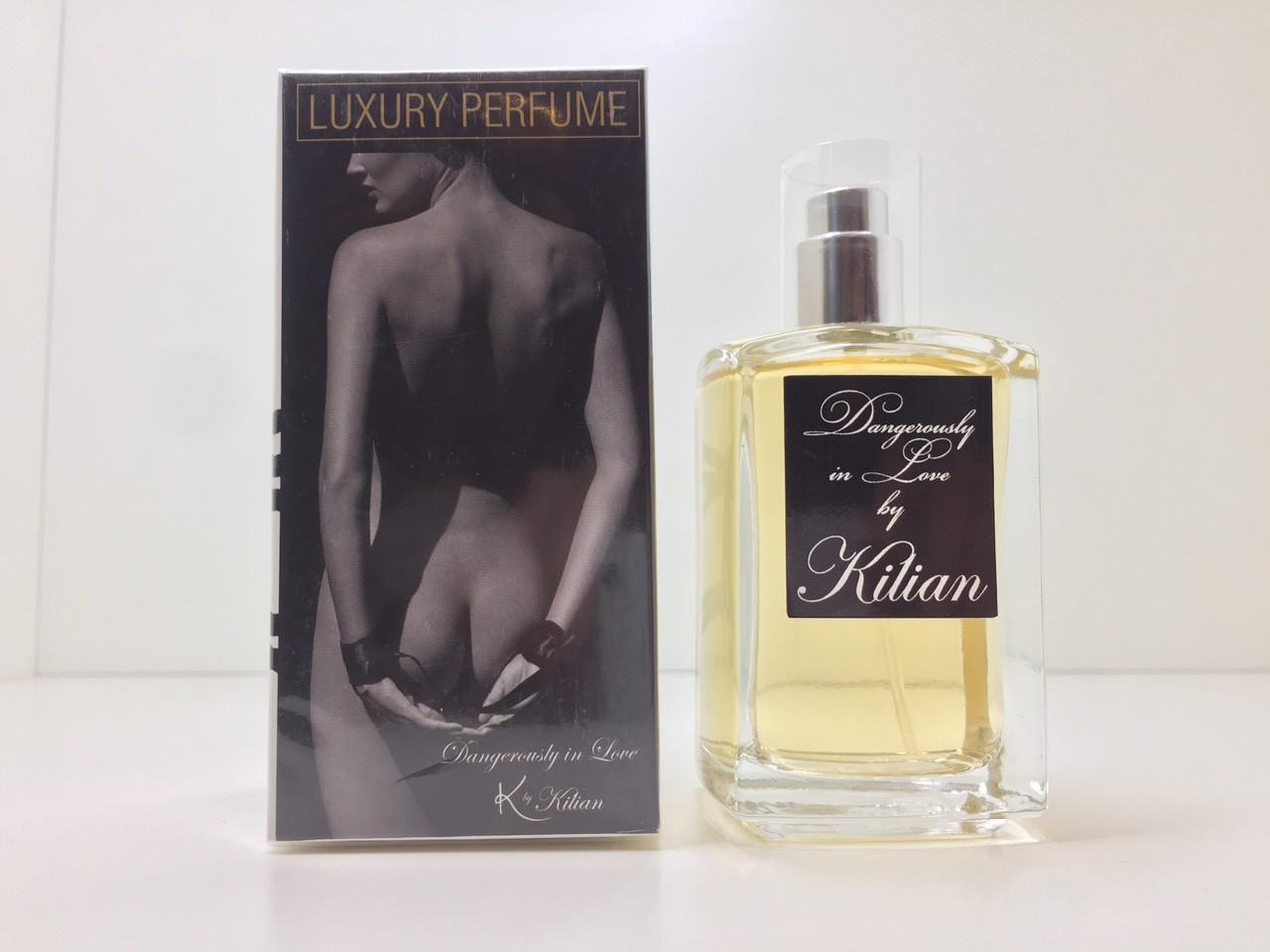 Парфюмированная вода унисекс Luxury parfume Kilian Dangerously in Love (Денжерос ин лав)