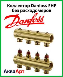 Коллектор Danfoss FHF на четыре выхода без расходомеров