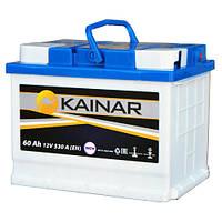 Автомобильный аккумулятор KAINAR 6СТ-60 (0602510120) 60Ач, 530 A (EN), левый+