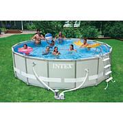 Каркасный бассейн Intex 54452 (488х122см); каркасные бассейны; бассейны Интекс; купить бассейн