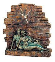 Гламурные часы с рельефом - для двоих