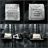 Кожаное женское пальто Б/У Размер S / 44-46, фото 9