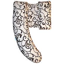 Подушка для беременных Delux (разные расцветки)