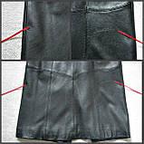 Кожаное женское пальто Б/У Размер S / 44-46, фото 8
