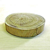 Срез (спил) шлифованный без коры 24-26см