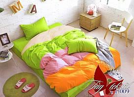 Комплект постельного белья полуторный ТМ TAG Color mix APT009