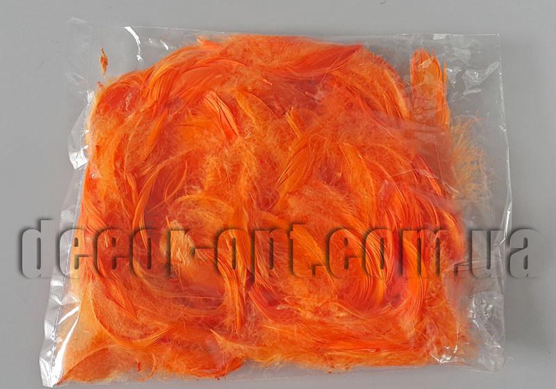 Пір'я яскраво-помаранчеві ≈11 гр ≈150 шт