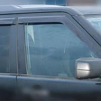 COBRA TUNING Дефлекторы окон на Land Rover Discovery IV '09-16 (накладные)