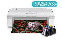 Принтер Epson PX-1004 с СНПЧ и чернилами
