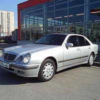 COBRA TUNING Дефлекторы окон на Mercedes-Benz E-Class (W211) '02-09 седан (накладные)