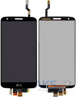 Дисплей (экран) для телефона LG G2 D802, G2 D805 + Touchscreen Original Black