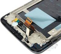 Дисплей (экран) для телефона LG G2 D802 + Touchscreen with frame Original Black